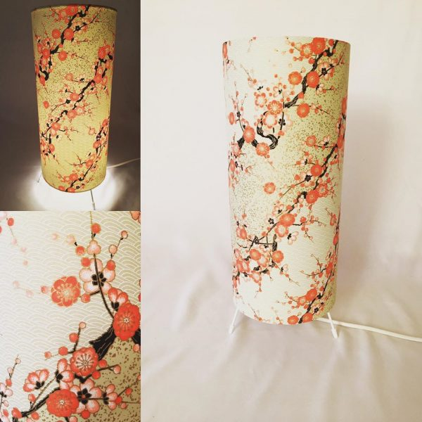 Another stunning cherry blossom print. This table or floor l...