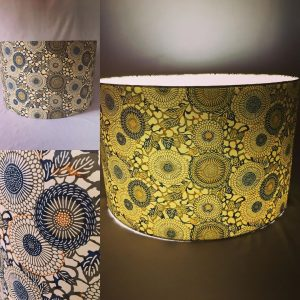 Big and beautiful! This 40 cm lampshade is made with one of ...