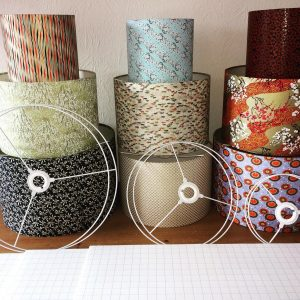 Chiyogami - Japanese hand printed paper - Lampshades made to...