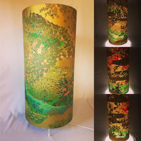 I made this floor lamp, 64 cm high and 20 cm wide from a new...