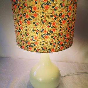 Just finished this 40 cm diameter lampshade made with hand p...