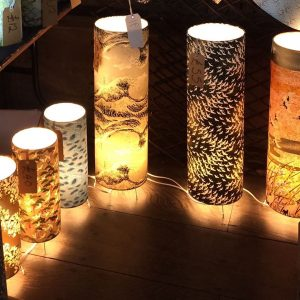Some of the floor lamps that will be available at The Festiv...