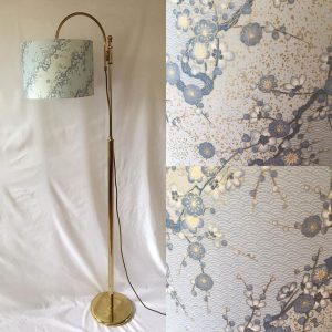 Summer sky blue... with a hint of gold. Cool, delicate and s...