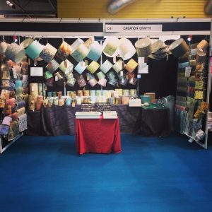 The Creation Crafts at the NEC Birmingham UK before the show...
