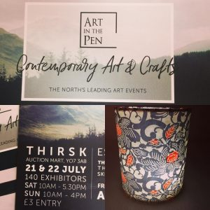 The Creation Crafts will be at ART IN THE PEN July 21st & 22...